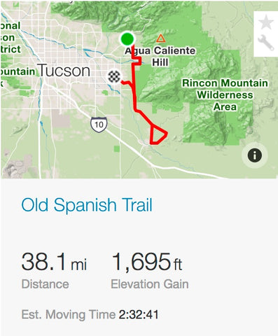 OLD SPANISH TRAIL STRAVA