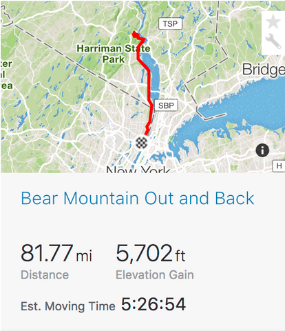 Bear Mountain Strava