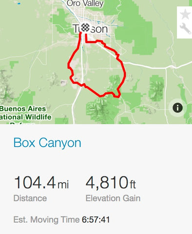 Box Canyon Strava