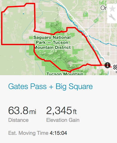 Gates pass + big square strava