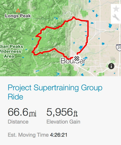 Project Supertraining Group Ride