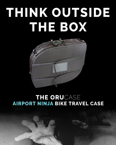 Orucase airport ninja think outside the box