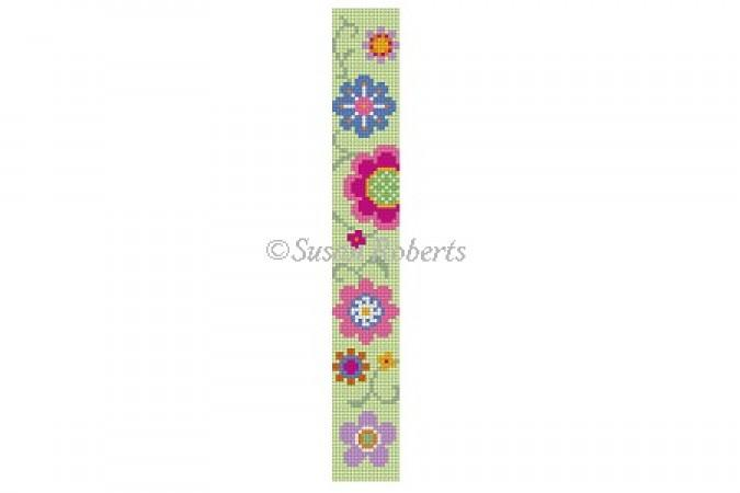 Flower Pops Key Fob