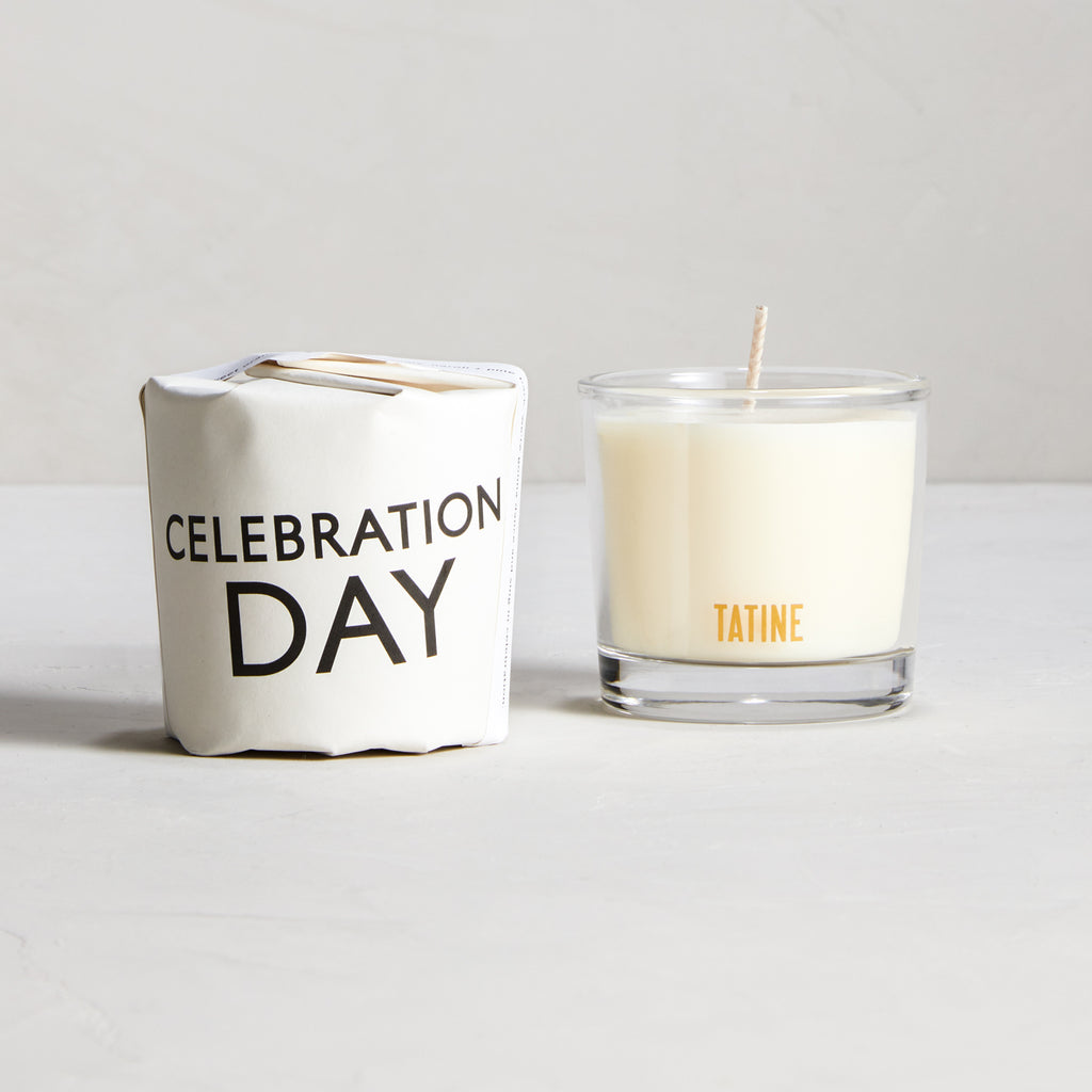 Celebration Day Votive Candle by Tatine | Tisane Collection