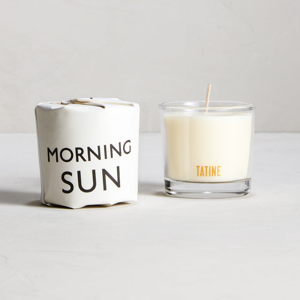Morning Sun Votive Candle by Tatine | Tisane Collection