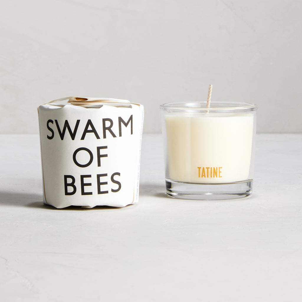 Swarm of Bees Votive Candle by Tatine | Tisane Collection