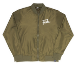 Fidels Glow In Dark Bomber Jacket - Green (Harvest 2)