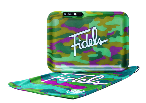Fidels x Glowtray Camo Print