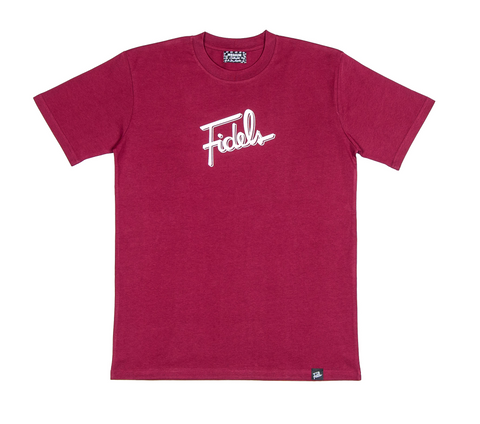 Fidels Maroon T-Shirt
