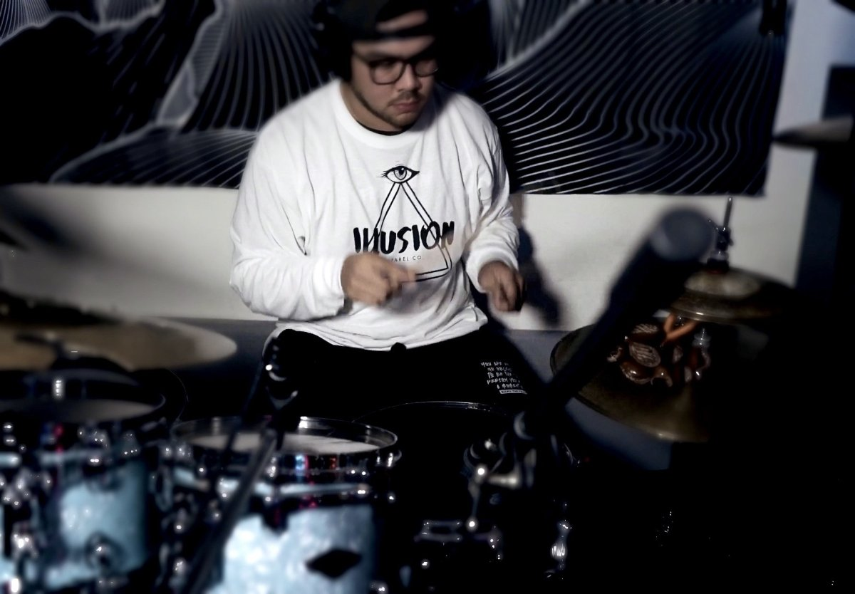 Nathan Taitano AKA: @guahandrummer | Illusion Apparel Co.