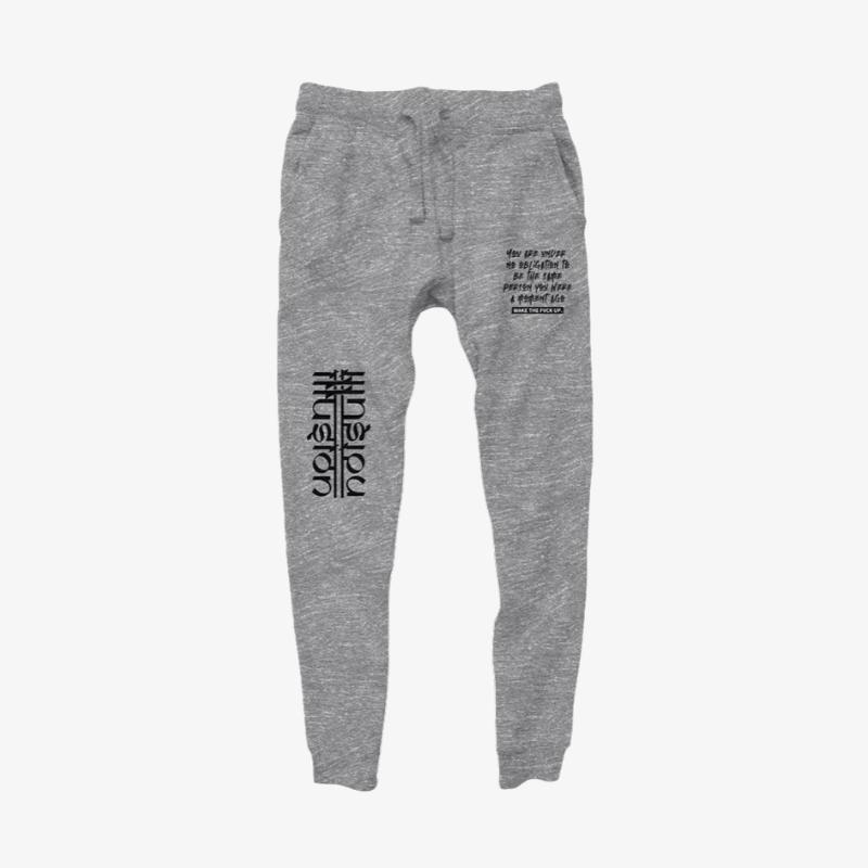 Dub Illusions Joggers - Grey - Illusion Apparel Co.