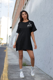 Free Yourself Classic Long Tee - BLACK - Illusion Apparel Co.