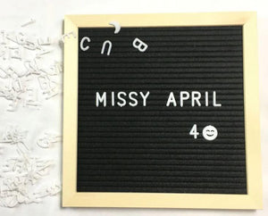Letter Board Message - Gift Canadian