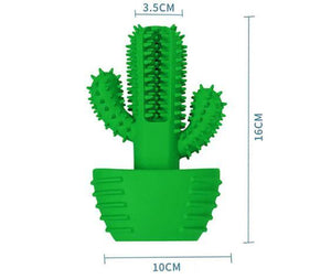 Cactus Dog Toothbrush - Gift Canadian