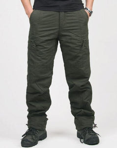 Double Layer Military Camouflage Tactical Cotton Pants - Gift Canadian