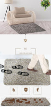 Load image into Gallery viewer, Floor Dirt Trapper Cotton Entrance Rug - Gift Canadian