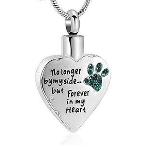 No Longer By My Side But Forever in My Heart Pendant - Gift Canadian