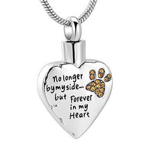 Load image into Gallery viewer, No Longer By My Side But Forever in My Heart Pendant - Gift Canadian