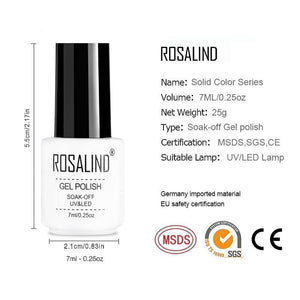 ROSALIND Soak Off Gel Nail Polish - Gift Canadian