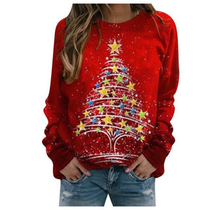 Oversized Christmas Hoodie Women - Gift Canadian