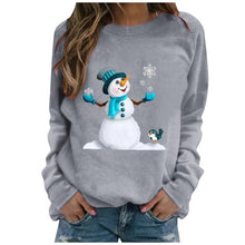 Load image into Gallery viewer, Snowman Hoodie Women Pullover - Gift Canadian
