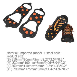 Universal Non-Slip Gripper shoes Spikes - Gift Canadian