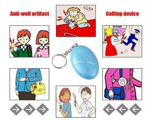 Load image into Gallery viewer, Personal Safety Alarm Keychain - Gift Canadian