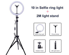 Load image into Gallery viewer, Selfie Ring Led Light Smartphone Holder - Gift Canadian
