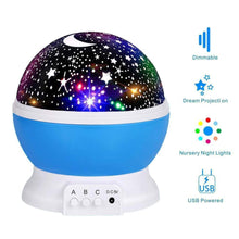 Load image into Gallery viewer, Starry Night Light Projector Lamp - Gift Canadian