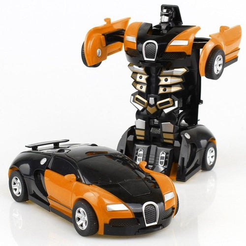 Transformation Robot Toy Car for Children - Gift Canadian