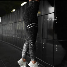 Load image into Gallery viewer, Women Gold Print Workout Leggings - Gift Canadian