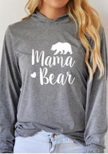 Load image into Gallery viewer, Womens Mama Bear Sweatshirt Long Sleeve Pullover Casual - Gift Canadian
