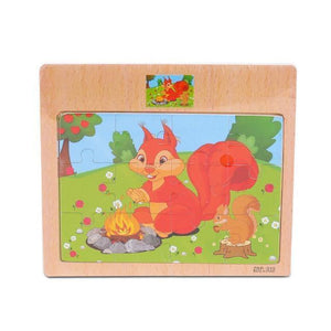 Wooden Puzzle Early Education Learning Toys - Gift Canadian