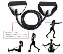 Load image into Gallery viewer, Yoga Pull Rope Elastic Resistance Bands - Gift Canadian
