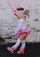 Solid Ballerina Pink Bloomer Skirt