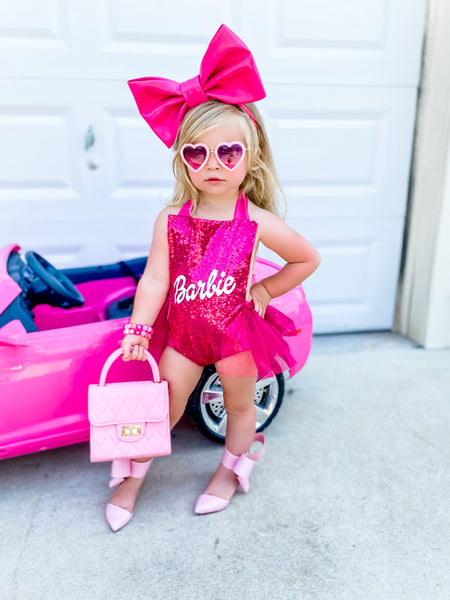 BARBIE Inspired Romper