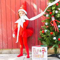 RED Elf on the Shelf inspired Romper