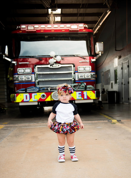 Fire & Rescue Bloomer Skirt