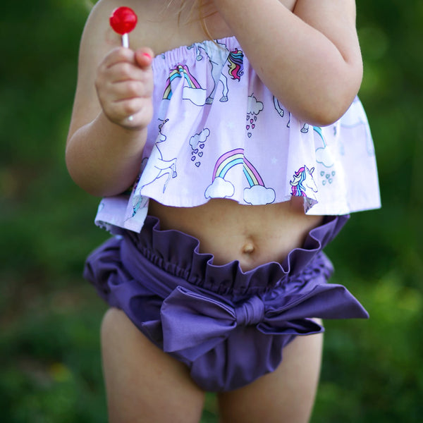 Wild Grape High Waisted Bloomers