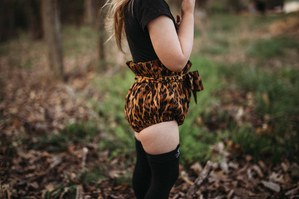 Cheetah High Waisted Bloomers