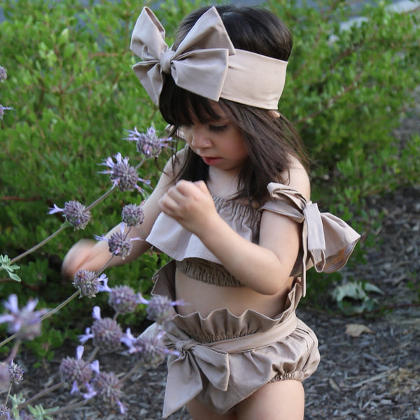 Brown Sugar High Waisted Bloomers