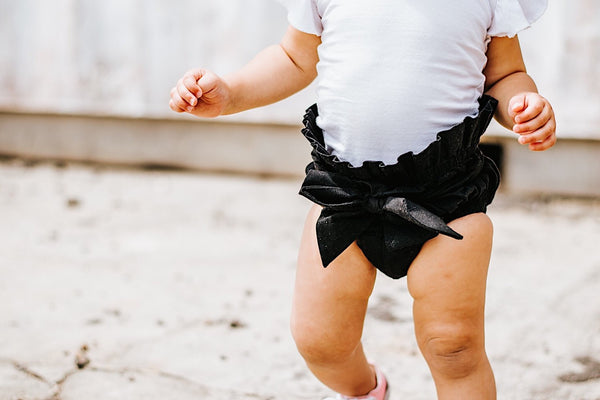 Black Onyx High Waisted Bloomers