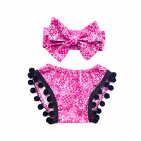 Hot Pink Rodeo Pom Pom Shorties