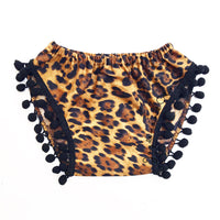 Cheetah Pom Pom Shorties