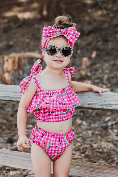 Watermelon Picnic Baby Doll Top