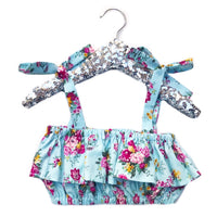 Light Blue Dahlia Baby Doll Top