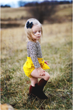 Yellow Canary High Waisted Bloomers