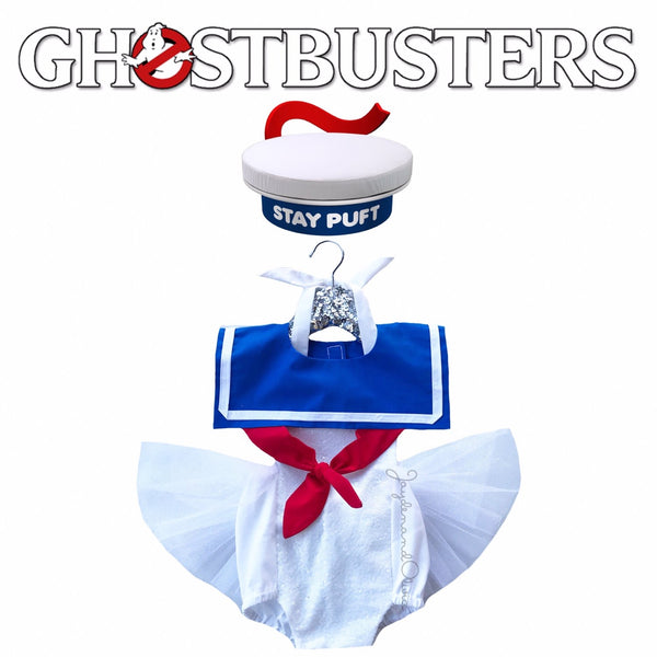 """Stay Puft"" GHOSTBUSTERS inspired Romper"