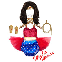 Sequins Wonder Woman Cape