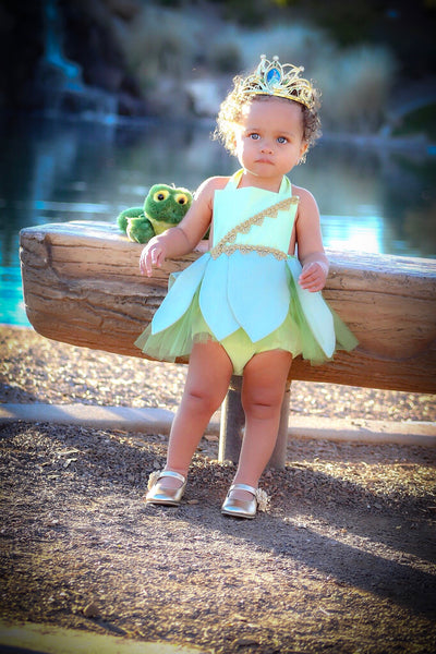 Princess Tiana PRINCESS and the FROG Inspired Romper